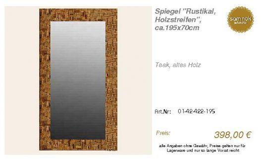 01-42-422-195-Spiegel _Rustikal, Holzstre_sam nok