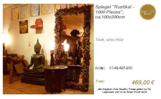 01-42-427-200-Spiegel _Rustikal - 1000 Pi_sam nok
