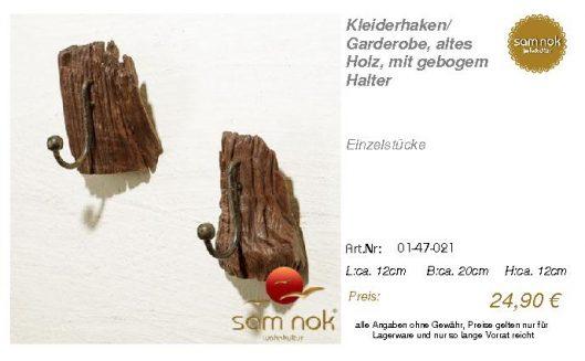 01-47-021-Kleiderhaken_ Garderobe, al _sam nok