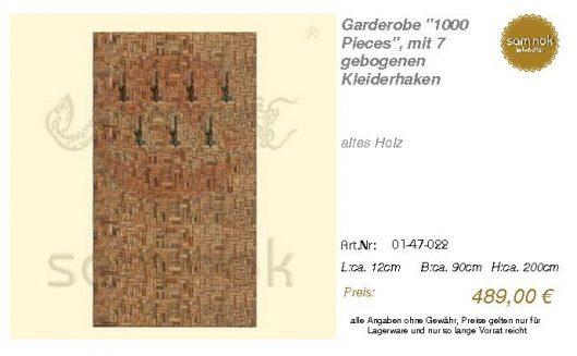 01-47-022-Garderobe _1000 Pieces_, mi _sam nok