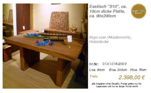 01-61-014-200-9-Esstisch _S10_, ca. 10cm di_sam nok