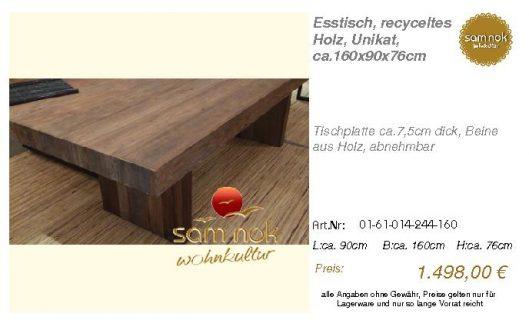 01-61-014-244-160-Esstisch, recyceltes Holz,_sam nok