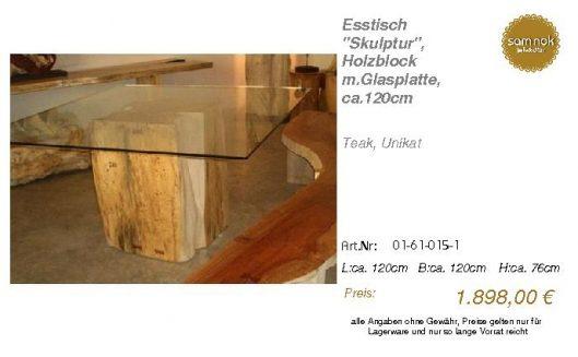 01-61-015-1-Esstisch _Skulptur_, Holzbl_sam nok
