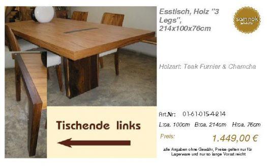 01-61-015-4-214-Esstisch, Holz _3 Legs_, 21_sam nok