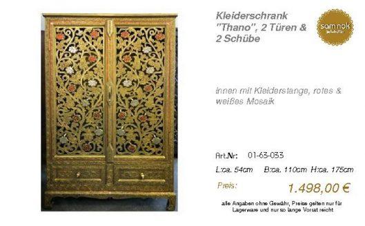 01-63-033-Kleiderschrank _Thano_, 2 T