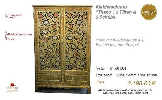 01-63-034-Kleiderschrank _Thano_, 2 T