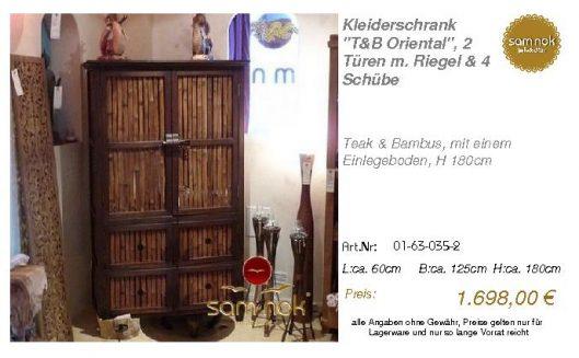 01-63-035-2-Kleiderschrank _T&B Orienta