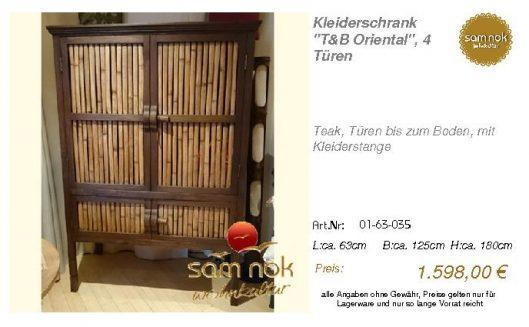01-63-035-Kleiderschrank _T&B Orienta