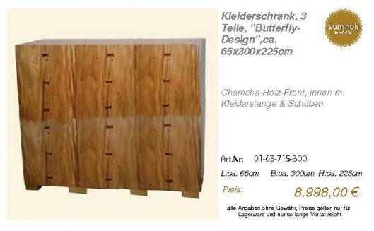 01-63-715-300-Kleiderschrank, 3 Teile, _B