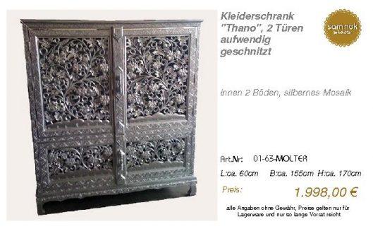 01-63-MOLTER-Kleiderschrank _Thano_, 2 T