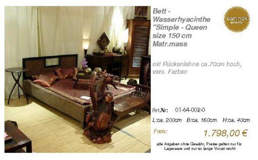 01-64-002-0-Bett - Wasserhyacinthe _Sim