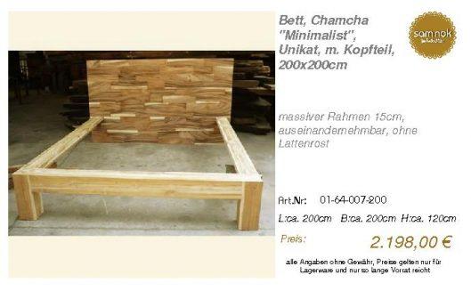 01-64-007-200-Bett, Chamcha _Minimalist_,