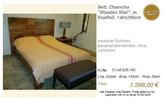 01-64-008-140-Bett, Chamcha _Wooden Wall_