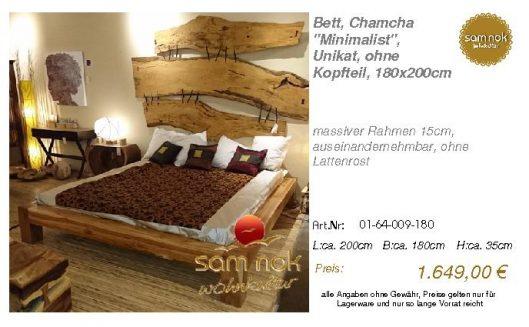 01-64-009-180-Bett, Chamcha _Minimalist_,