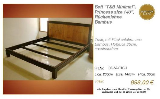 01-64-010-1-Bett _T&B Minimal_, Princes