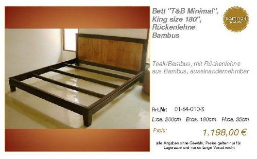01-64-010-3-Bett _T&B Minimal_, King si