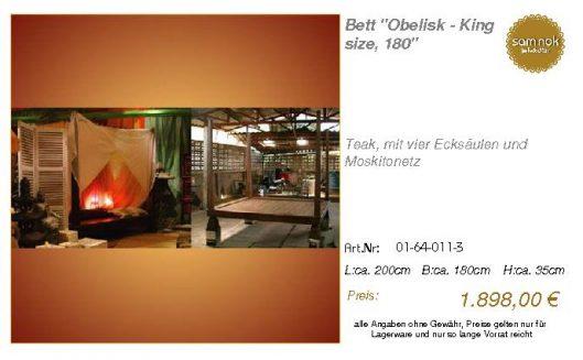 01-64-011-3-Bett _Obelisk - King size,