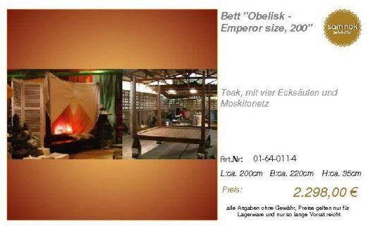 01-64-011-4-Bett _Obelisk - Emperor siz