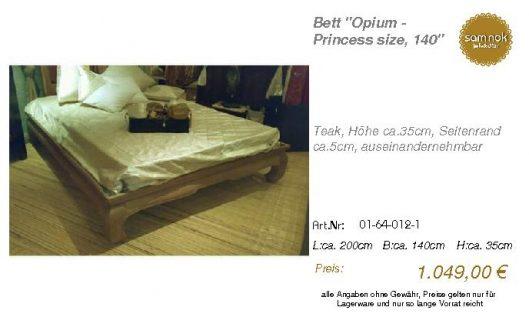 01-64-012-1-Bett _Opium - Princess size