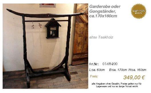 01-68-200-Garderobe oder Gongständer, _sam nok
