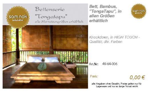 49-64-006-Bett, Bambus, _TongaTapu_,