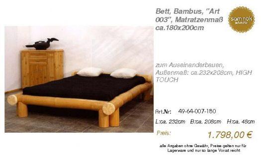49-64-007-180-Bett, Bambus, _Art 003_, Ma