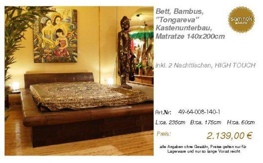 49-64-008-140-1-Bett, Bambus, _Tongareva_ K