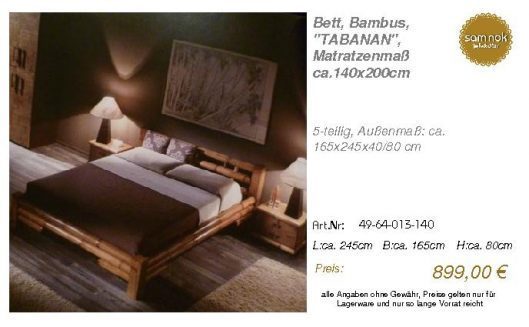 49-64-013-140-Bett, Bambus, _TABANAN_, Ma