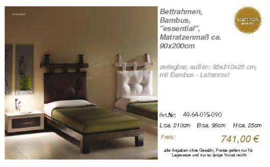 49-64-015-090-Bettrahmen, Bambus, _essent