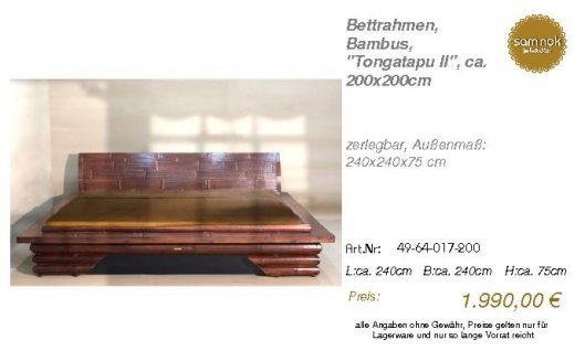 49-64-017-200-Bettrahmen, Bambus, _Tongat