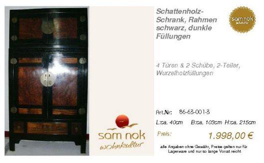 86-63-001-3-Schattenholz-Schrank, Rahme