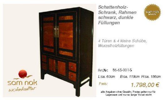 86-63-001-5-Schattenholz-Schrank, Rahme