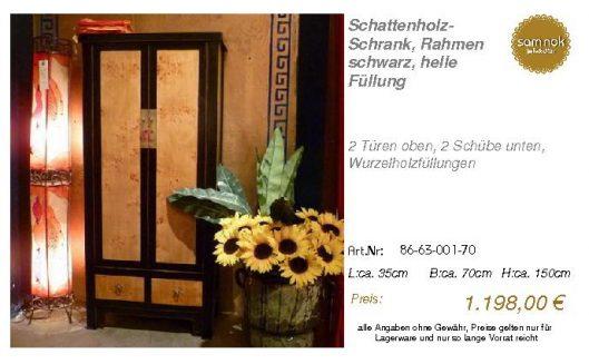 86-63-001-70-Schattenholz-Schrank, Rahme