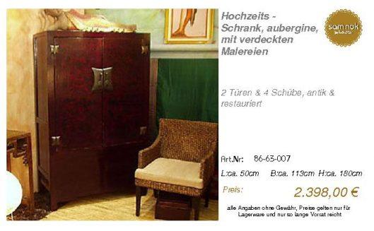 86-63-007-Hochzeits - Schrank, auberg