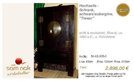 86-63-008-0-Hochzeits - Schrank, schwar
