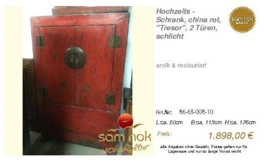 86-63-008-10-Hochzeits - Schrank, china