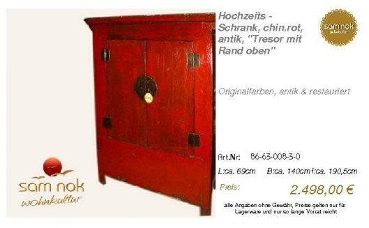 86-63-008-3-0-Hochzeits - Schrank, chin.r
