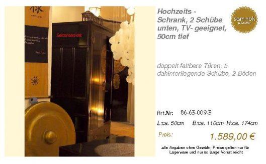 86-63-009-3-Hochzeits - Schrank, 2 Schü