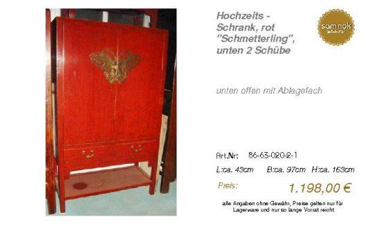 86-63-020-2-1-Hochzeits - Schrank, rot _S