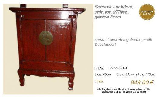 86-63-041-4-Schrank - schlicht, chin.ro