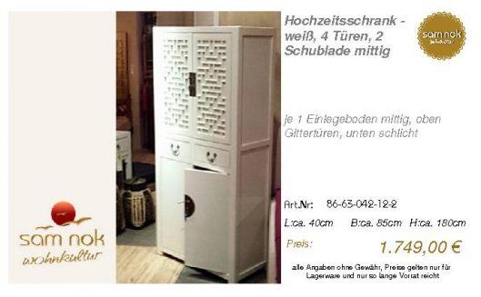 86-63-042-12-2-Hochzeitsschrank - weiß, 4
