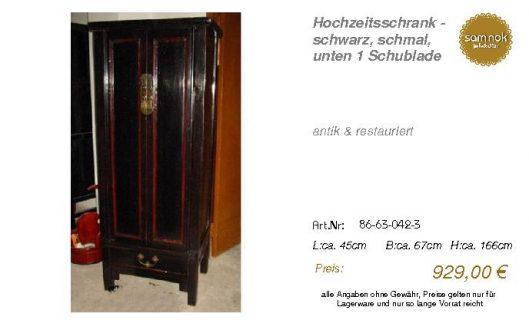 86-63-042-3-Hochzeitsschrank - schwarz,