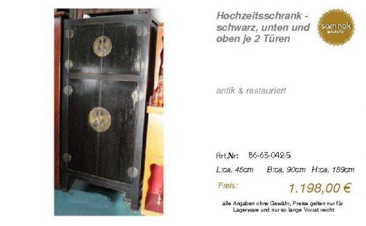 86-63-042-5-Hochzeitsschrank - schwarz,