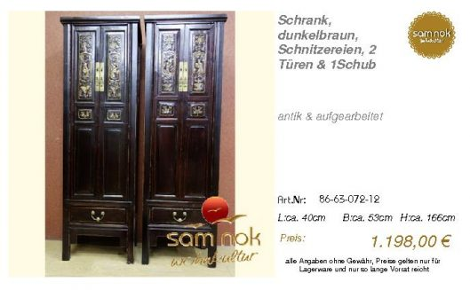 86-63-072-12-Schrank, dunkelbraun, Schni