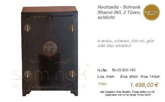 86-63-306-140-Hochzeits - Schrank Shanxi-