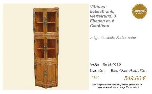 86-63-401-0-Vitrinen- Eckschrank, viert