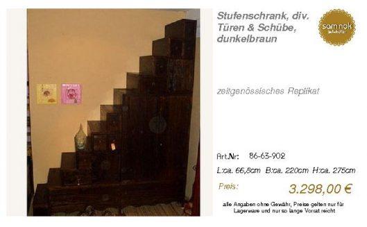 86-63-902-Stufenschrank, div. Türen &