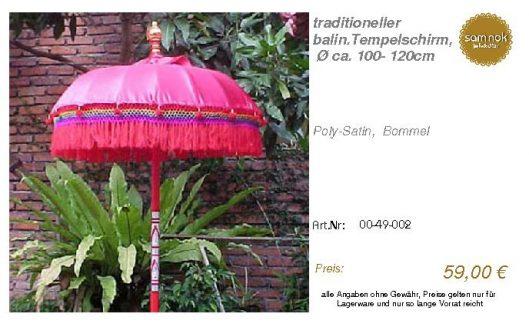 00-49-002-traditioneller balin.Tempel _sam nok