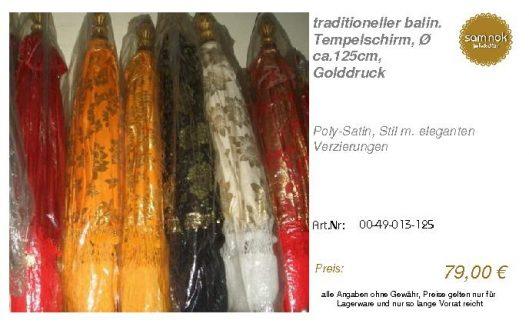 00-49-013-125-traditioneller balin. Tempe _sam nok