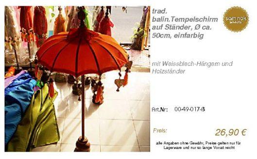 00-49-017-B-trad. balin.Tempelschirm au _sam nok